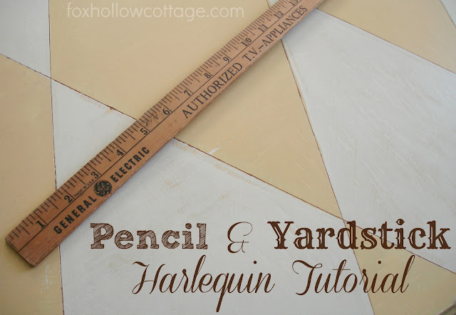 How To Paint Harlequin {a simple DIY tutorial}