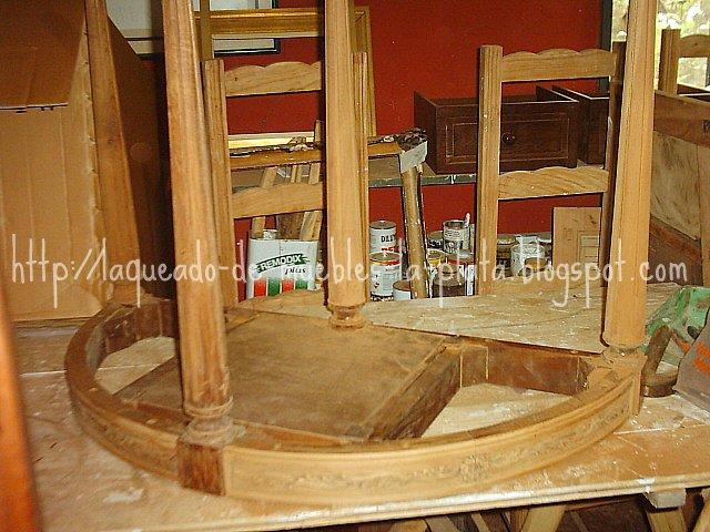 Muebles de madera restauraci n lustre y laqueado - Pintura para muebles de madera ...