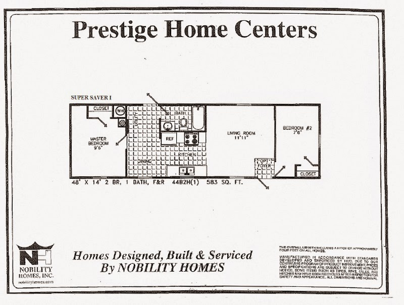 X Mobile Home Floor Plans on
