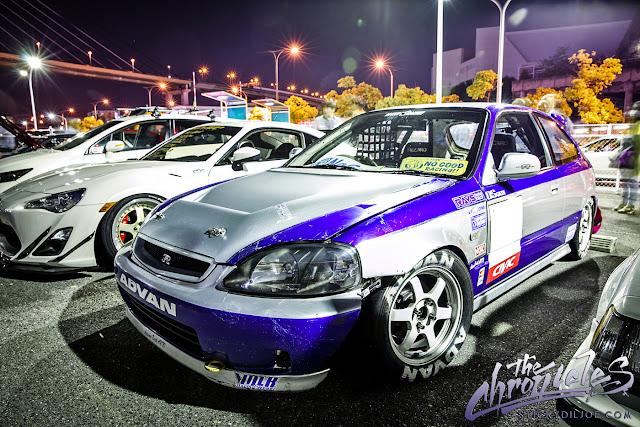 Honda Civic VI, JDM, tuning, wyścigi, Kanjo King EK