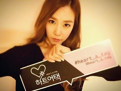 SNSD Tiffany Mnet Heart a Tag