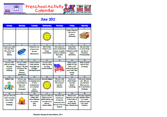 Schedule Preschool Curriculum Pictures to Pin PinsDaddy – Preschool Calendar Template