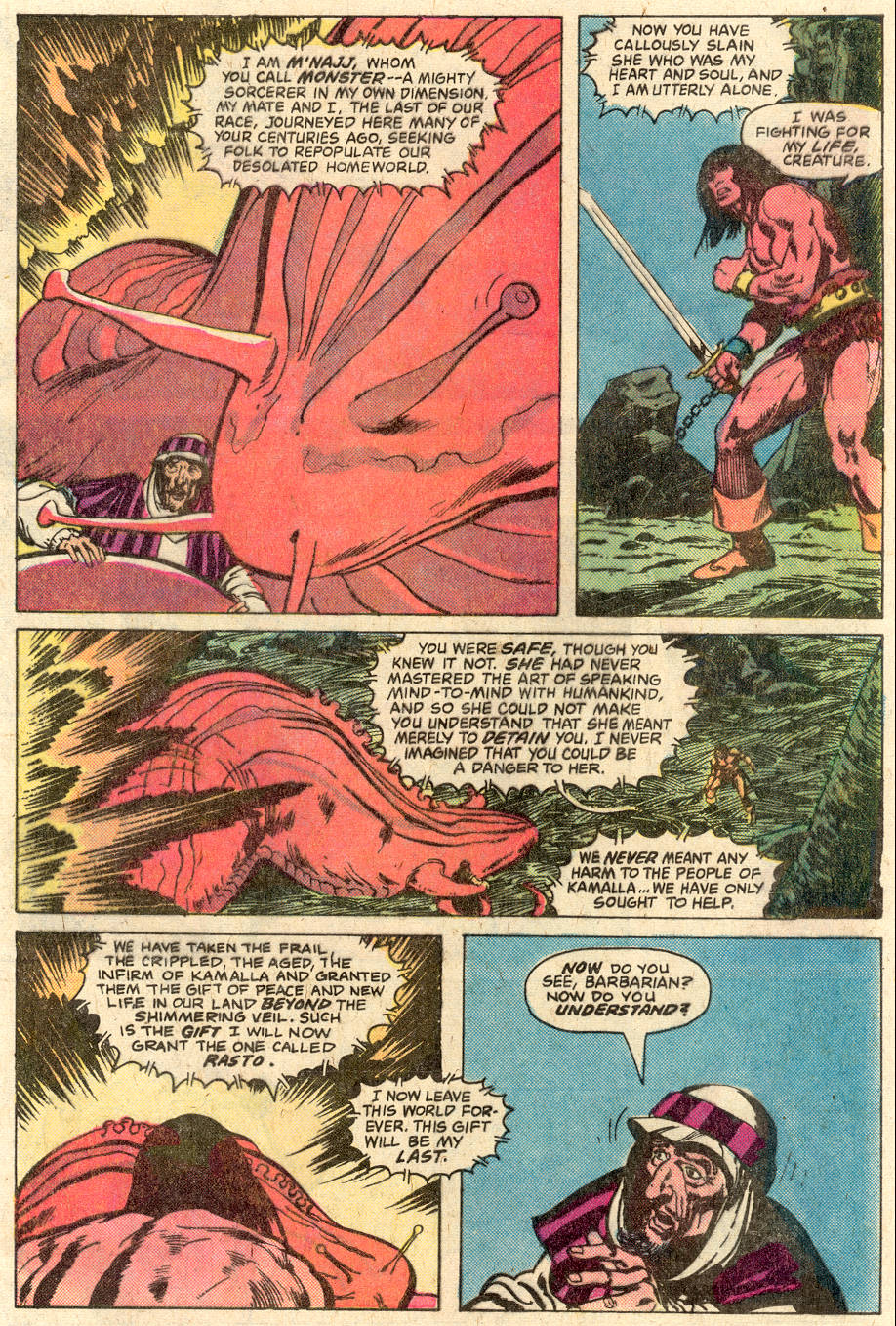 Conan the Barbarian (1970) Issue #116 #128 - English 21
