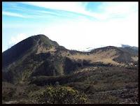 around the peak Lawu