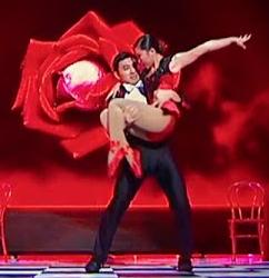 Photo Gao Lin & Liu Xin Asia's Got Talent 2015