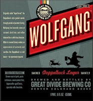 Great Divide Wolfgang Doppelbock Lager