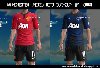 Manchester United Kits 13-14 by Asun11