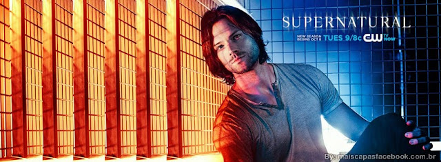 capa para facebook supernatural, sobrenatual, jared padalecki sam