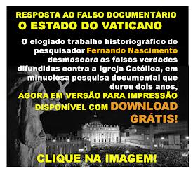 RESPOSTA AO FALSO DOCUMENTÁRIO