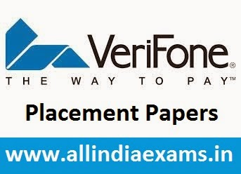 Verifone Placement Papers