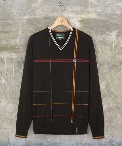 Fred Perry x No Doubt V neck Sweater