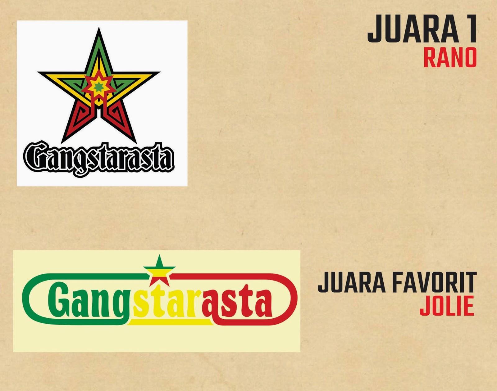Ini Dia Pemenang Design Logo Gangstarasta