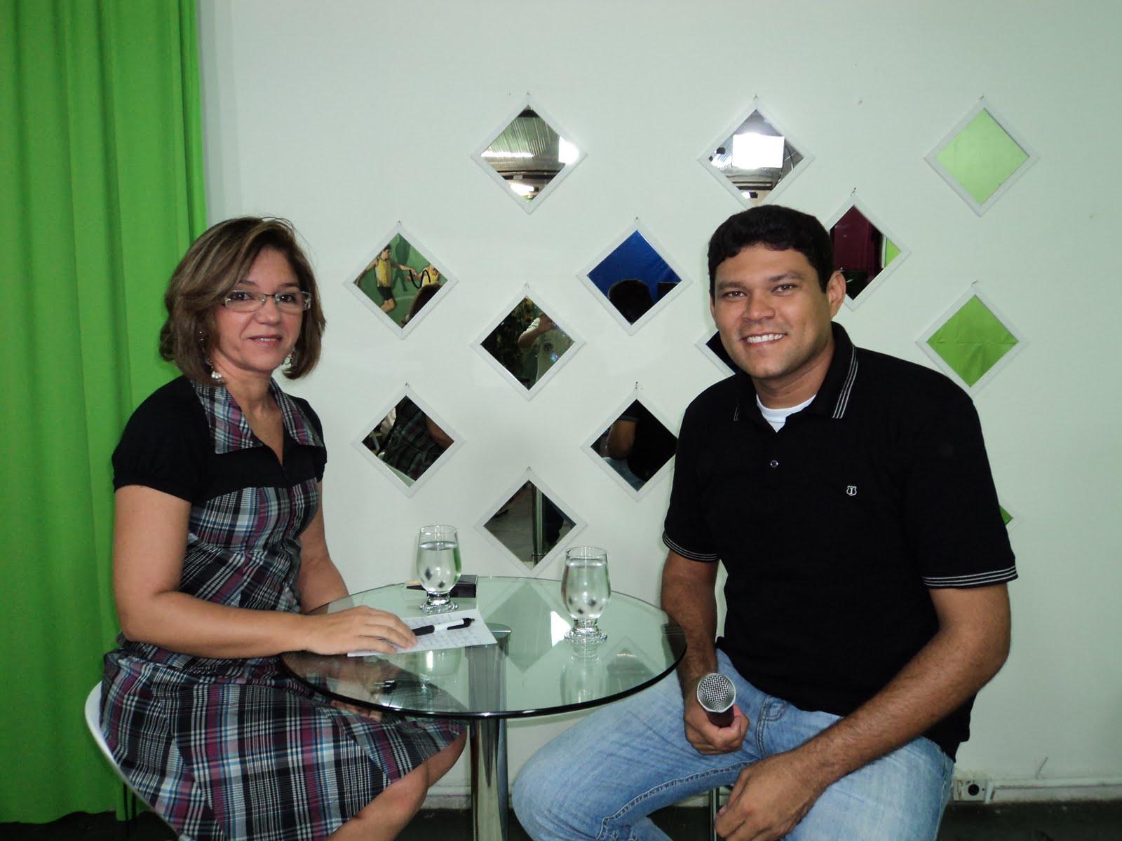 No programa da Sidys Tv a Cabo