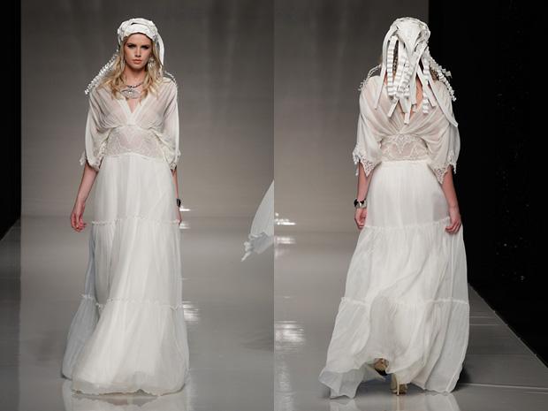 Dawn j 39 s fashion wedding gown modern greecian wedding dresses for Greek wedding dress designers