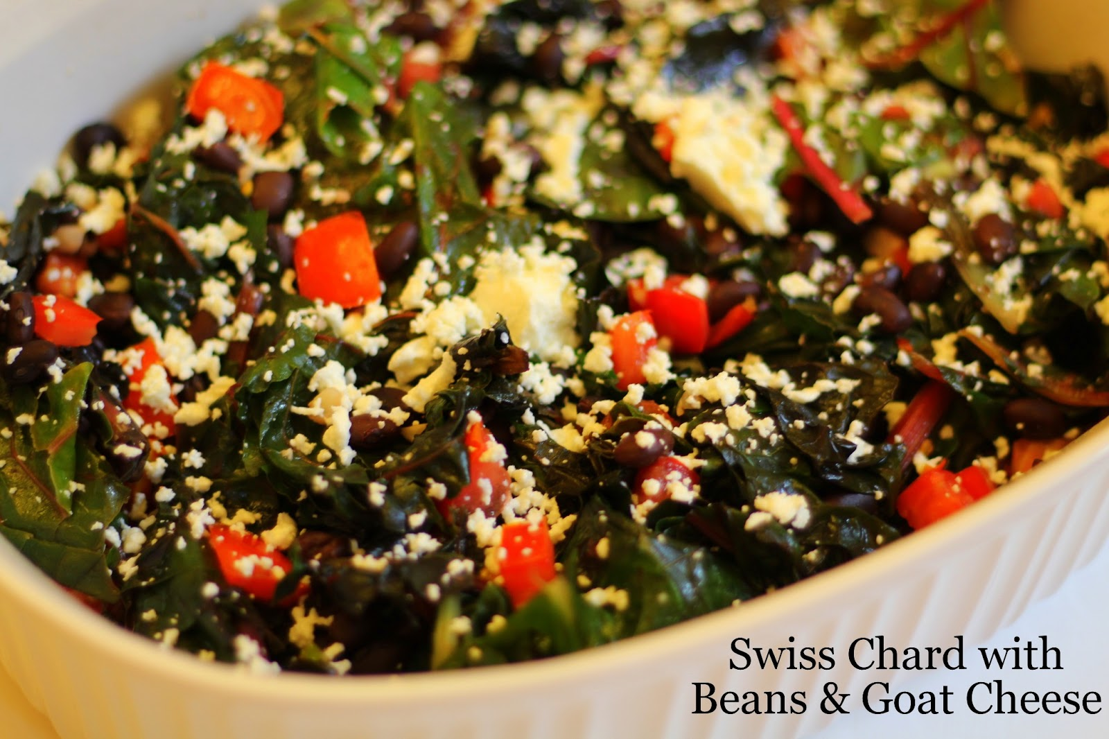 My So-Called (Mommy) Life: Swiss Chard with Beans & Goat ...
