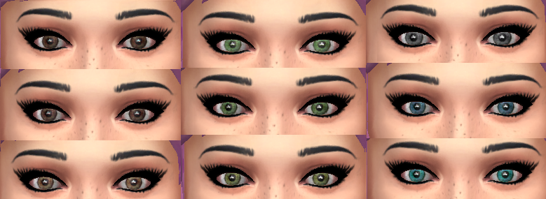 Realistic Eye Template Default Realistic Eyes by
