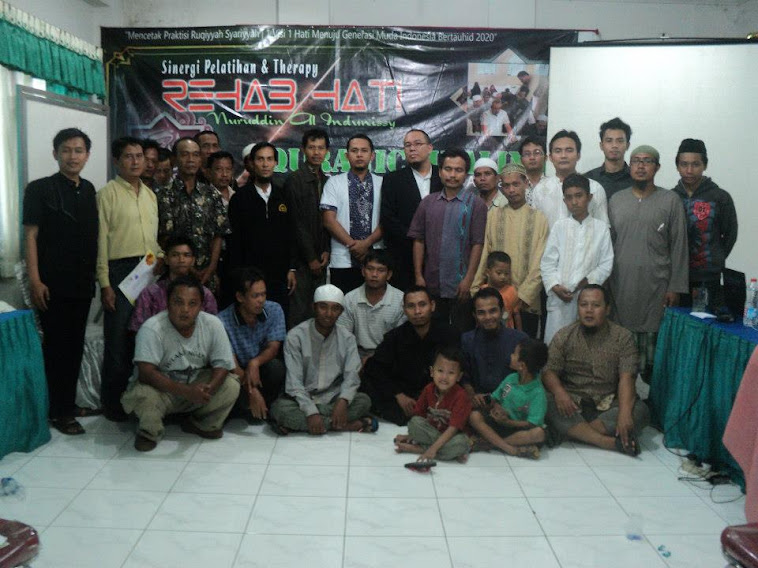 TRAINING QURANIC HEALING ANGKATAN VIII (DELAPAN)