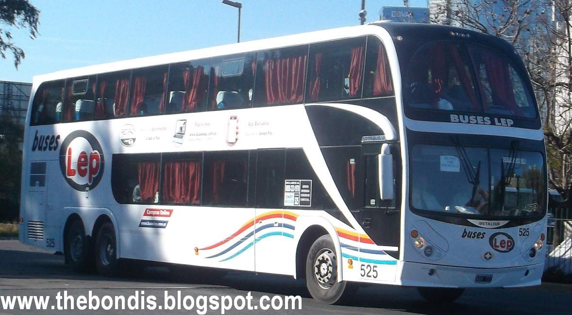 The bondis los buses de tu pa s buses lep ya llega a retiro for Cuarto mas empresa
