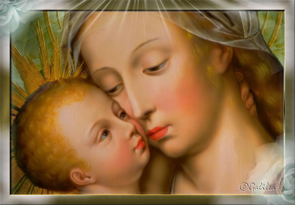 Santa Mara Madre de Dios y Madre nuestra Imgenes Virgen Mara III