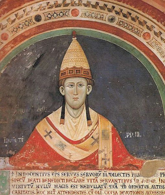 innocent iii s papal influence over the [5] he took the name innocent iii, maybe as a reference to his predecessor innocent ii (1130–1143), who had succeeded in asserting the papacy's authority over the emperor (in contrast with celestine iii 's recent policy.