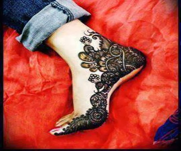 FUNKIMAG: Latest Mehndi Design For Valentine Day