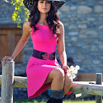 Ileana D'Cruz Hot Pics in Pink Skirt