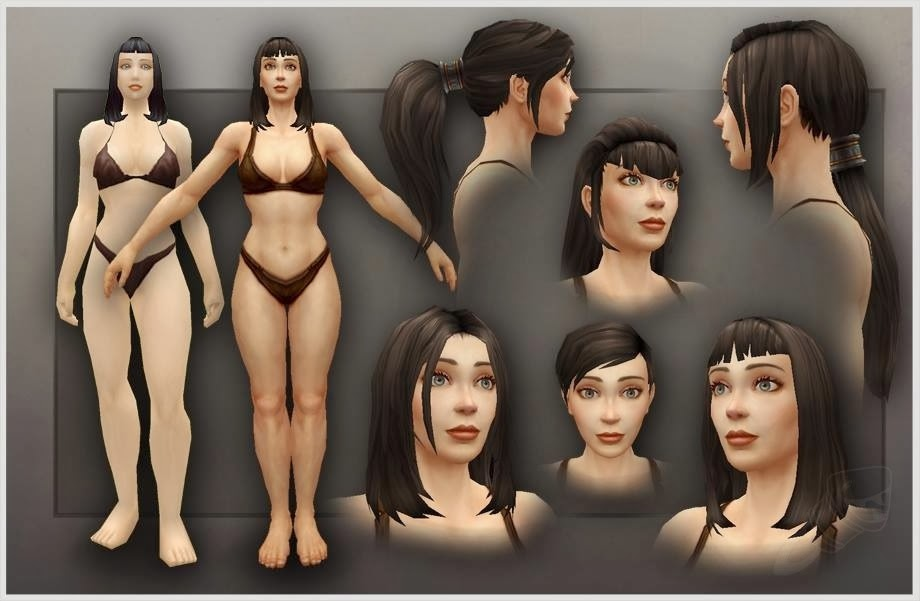 How I Geek : WoW - New Models for Human Females