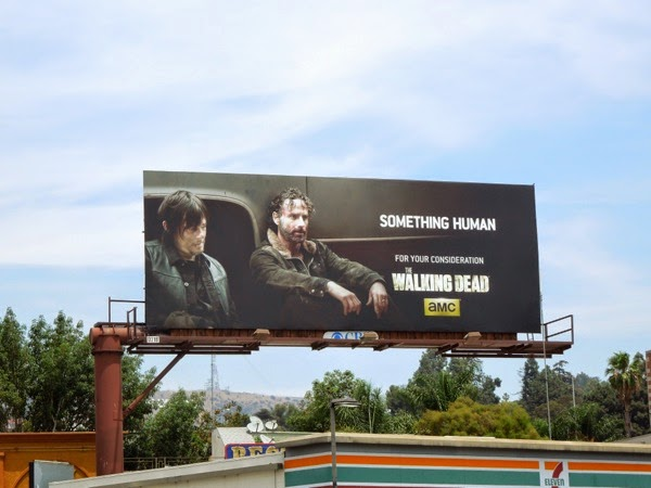 Daryl Rick Walking Dead Emmy 2014 billboard