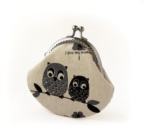 кошелек, совы, Owls family