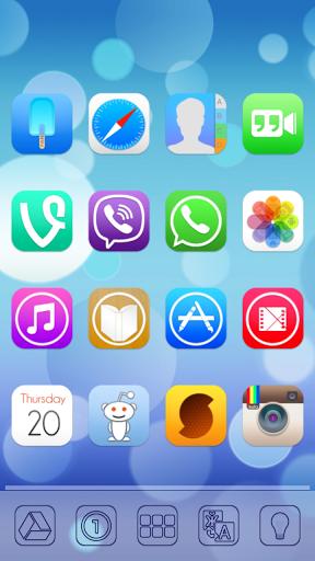 Ultimate iOS7 Apex Nova Theme 1.561 APK