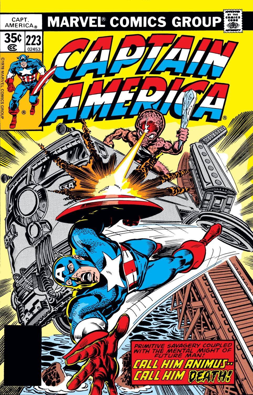 Captain America (1968) Issue #223 #137 - English 1