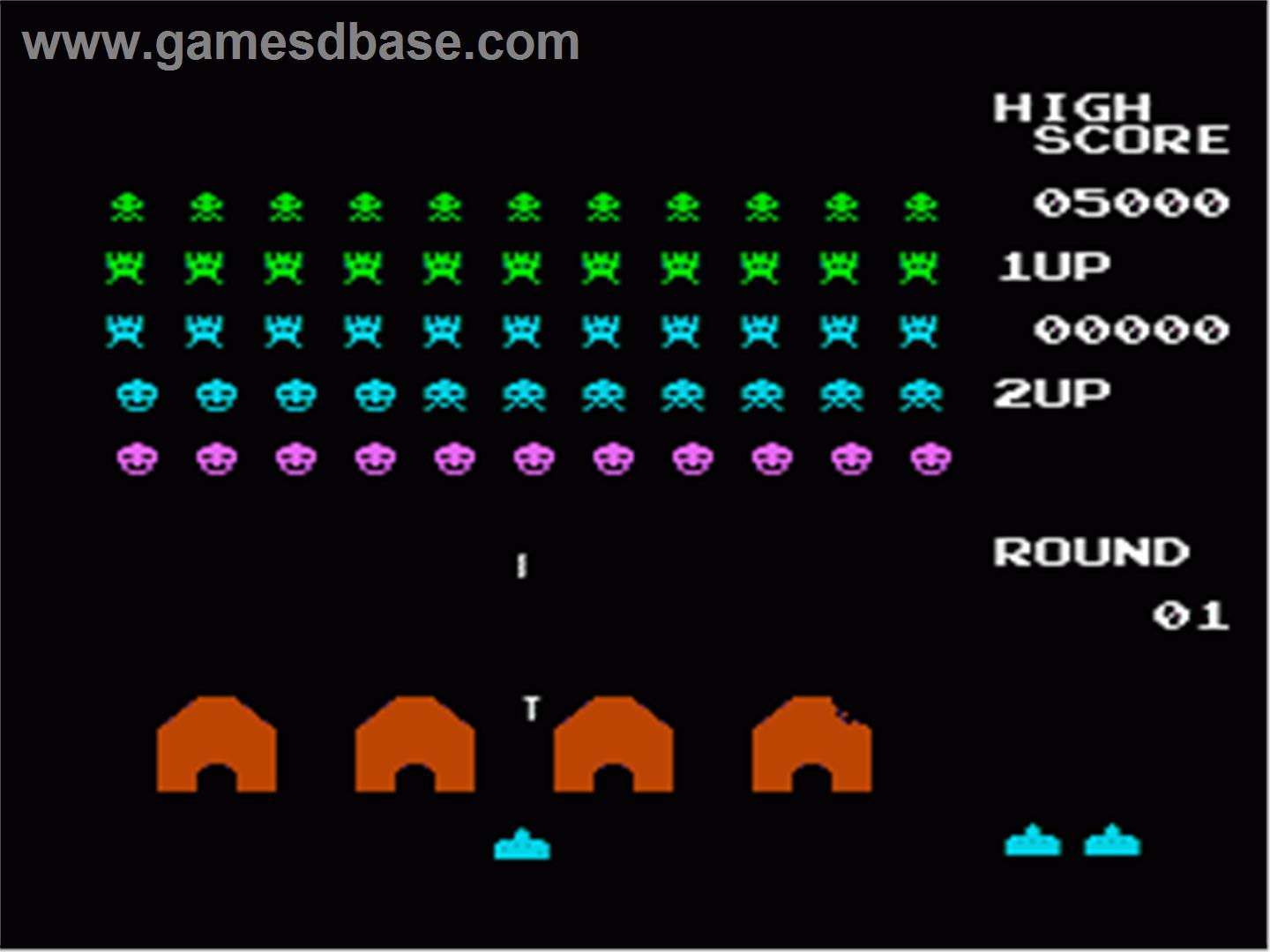 Space invaders for Space invaders