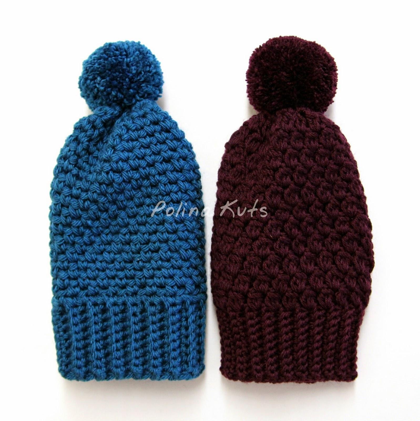 Свяжем модную женскую шапку