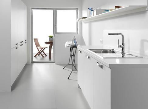 Ventajas de la cocina y lavadero como zonas separadas for Base para lavadero