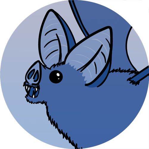 ¡Murcielago Azul!