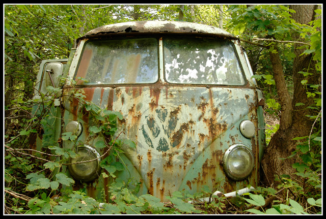 Nova Scotia; Rust; Volkswagon; Bus; VW