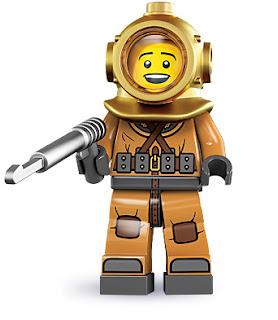 lego minifigür dalgıç