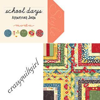 Moda SCHOOL DAYS Quilt Fabric by American Jane