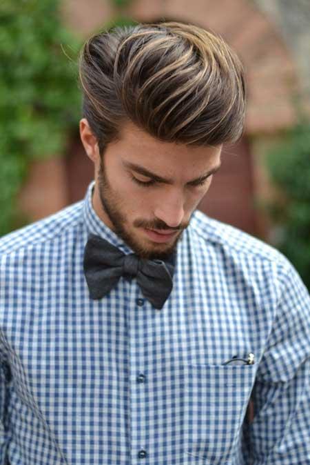 Peinados de boda hombre