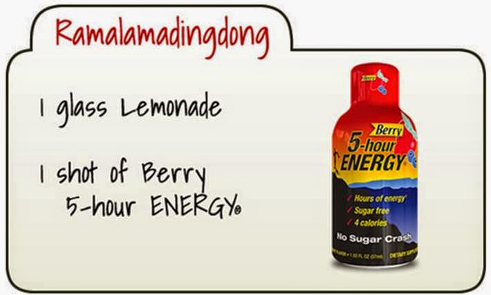 berry 5-hour energy recipe