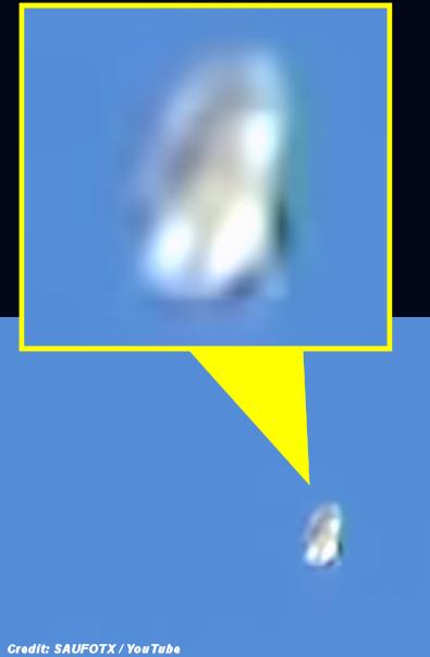 UFO Flying Across San Antonio Skies - 1-23-16