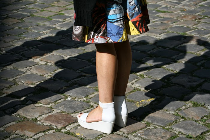 paris fashion week details skirt