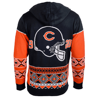 CHICAGO BEARS OFFICIAL NFL - Backside