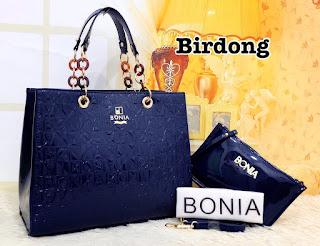 Tas KW BONIA Cyntia Glossy Semi Premium 345MV Jakarta