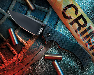 Crime Knife And Bullets HD Wallpaper