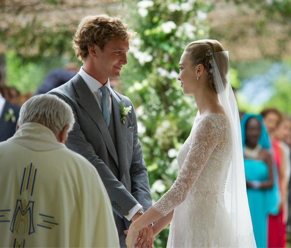 Religious Wedding Ceremony Of Pierre Casiraghi And