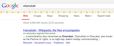 Google Chanukah