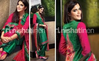 Nishat Linen Dresses 2013