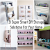 31 Super Smart DIY Storage Solutions For Your Home Improvement