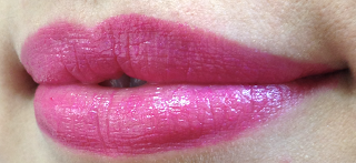 l'oreal caresse by colour riche lipstick swatches velvety fuchsia